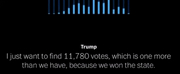 VIDEO: Listen to Trump Plead For 11,780 Votes Hilariously Paired with Seasons of Love Photo