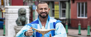 Robin Windsor Flies Into Liverpool\