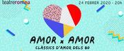 El concierto solidario AMOR X AMOR vuelve a Barcelona
