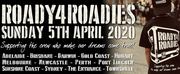 Roady4Roadies Announces Fundraising Events Across Australia for 2020