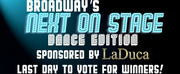 Last Day to Vote for Next on Stage: Dance Edition Finale!