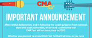 CMA FEST 2020 Has Been Cancelled