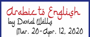 Theatre NOVA Will Present the World Premiere of ARABIC TO ENGLISH by David Wells