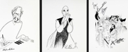 Limited Edition Al Hirschfeld Prints Signed By Broadway Stars, Now Up For Bids