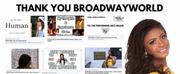BWW Blog: Thank You BroadwayWorld Photo