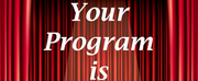 YOUR PROGRAM IS YOUR TICKET Podcasts Act II...Places Series Welcomes Jordan Haddad and Eri Photo
