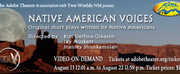 The Adobe Theater to Present NATIVE AMERICAN VOICES