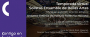 Solistas Ensamble De Bellas Artes Inicia Temporada Virtual 2020 Photo