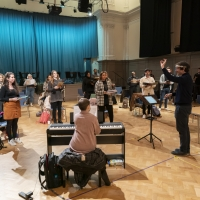 Photo Flash: Inside Rehearsal For A CHRISTMAS CAROL at the Dominion Theatre Photos