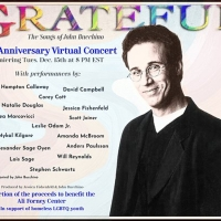 GRATEFUL, THE SONGS OF JOHN BUCCHINO 20TH ANNIVERSARY CONCERT to Have Encore Performa Photo