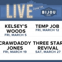 Bijou Theater Announces Live Performance Series, LIVE FROM THE BIJOU Photo