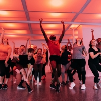 Photo Flash: Rockefeller Center Honors Hal Prince With Free Dance Class Photos