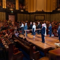 Photos: The Cast of WITNESS FOR THE PROSECUTION Takes Their Bows at Reopening Pe Photos