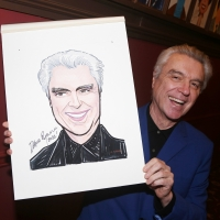 Photo Coverage: AMERICAN UTOPIA's David Byrne Celebrates New Sardi's Portrait Photo