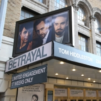 Up On The Marquee: BETRAYAL Arrives on Broadway Photos