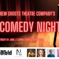 New Ghosts Theatre Company Will Host Comedy Night on 4 June Photo