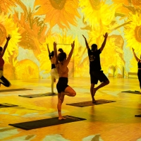 Gogh with Lifeway Kefir Immersive Yoga Classes Will Take Place at THE ORIGINAL IMMERSIVE V Photo