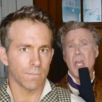 VIDEO: Ryan Reynolds and Will Ferrell Duet on the Set of SPIRITED Photo