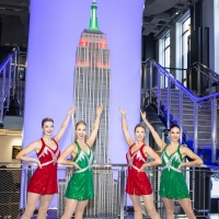 Photo Flash: Rockettes Light the Empire State Building for Opening of 2019 CHRISTMAS SPECTACULAR STARRING THE RADIO CITY ROCKETTES Photos