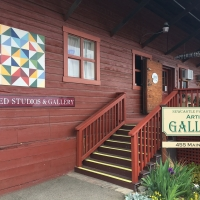 Newcastle Packing Shed Artists Gallery and Olympic Productions featured on Placer Rep's Ma Photo