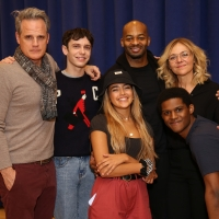 Photo Coverage: In Rehearsal with Rachel Bay Jones, Brandon Victor Dixon and the Cast Photo