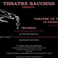 Theatre Bacchus Presents AN EVENING WITH POE Photo