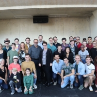 Photo Flash: Inside First Rehearsal For Arena Stage's NEWSIES Photo