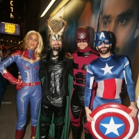 Photo Flash: BETRAYAL Cast Plays Marvel Swap for Halloween! Photo