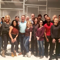 Photo Flash: Inside First Rehearsal For ROMEO & BERNADETTE