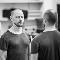 Photo Flash: First Look at Rehearsal Photos of CYRANO DE BERGERAC Starring James McAvoy