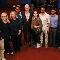 Photos: President Bill Clinton Attends WAITING FOR LEFTY Reading at The Neighbor Photos