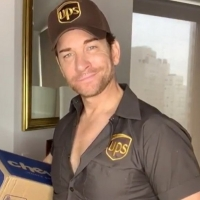 VIDEO: Andy Karl Breaks Out His LEGALLY BLONDE UPS Uniform in Quarantine