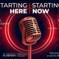 STARTING HERE, STARTING NOW Musical Revue Will Be Performed by The University of Alab Photo