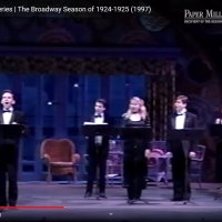 VIDEO: Watch Paper Mill's Full Humanities Symposium Series | The Broadway Season of 1924-1925