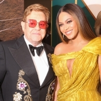 Photo Flash: Beyonce, Elton John Attend European Premiere of THE LION KING