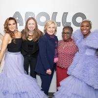 Photo Flash: The Clintons, Dan Levy, and More Attend Cynthia Erivo and Shoshana Bean' Photo