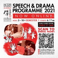 Kuala Lumpur Performing Arts Center's Speech and Drama Programme is Now Online Photo