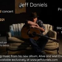 Park Theatre Civic Centre Presents a Livestreamed Concert With Jeff Daniels Photo