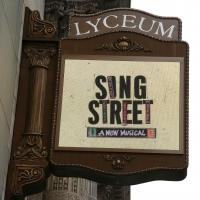 Up On The Marquee: SING STREET Lands at the Lyceum Theatre! Photo