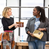 Photo Flash: Go Inside Rehearsal for CAROLINE, OR CHANGE on Broadway, Starring Sharon D. Clarke, Caissie Levy, Chip Zien and More Photos