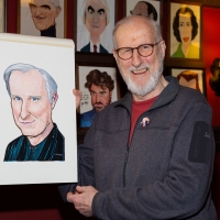 Photo Coverage: James Cromwell Receives Portrait at Sardi's