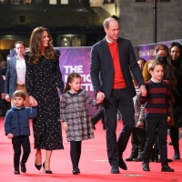 Photo Flash: The Duke and Duchess of Cambridge Attend PANTOLAND Special Performance f Photo