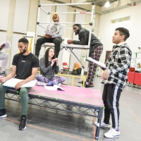 Photo Flash: Inside Rehearsal For CRONGTON KNIGHTS at the Belgrade Theatre Coventry Photos