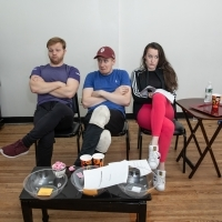 Photo Flash: In Rehearsal With DEATH OF A SHOE SALESMAN Photos