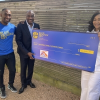 Photo Flash: BLACK BROADWAY MEN Provide Disaster Relief Funds to Those Affected Photos
