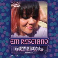 Em Rusciano Comes To Melbourne's Sidney Myer Music Bowl Photo