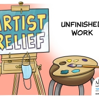 Check Out Political Cartoons From Be An #ArtsHero & Counterpoint's '100 Days of Art & Photo
