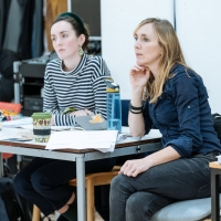 Photo Flash: Inside Rehearsal For RAVENS: SPASSKY VS. FISCHER at Hampstead Theatre Photo