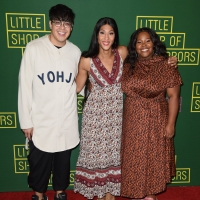 Photo Flash: George Salazar, Mj Rodriguez, Amber Riley & More Celebrate Opening Night of LITTLE SHOP OF HORRORS