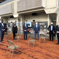 Photo Flash: First Look at Arena Stage High-Capacity Vaccination Site Photos